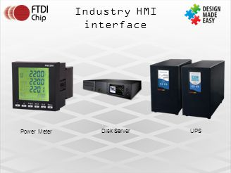 Industry HMI interface Disk ServerUPS Power Meter