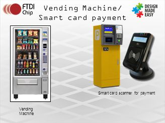 Vending Machine/ Smart card payment Smart card scanner for payment Vending Machine