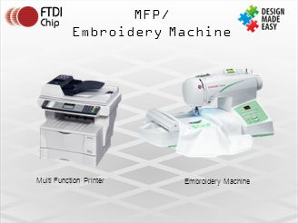 MFP/ Embroidery Machine Multi Function Printer Embroidery Machine