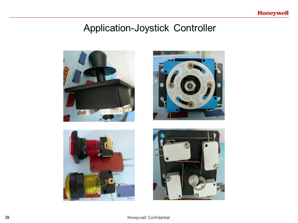 39Honeywell Confidential Application-Joystick Controller