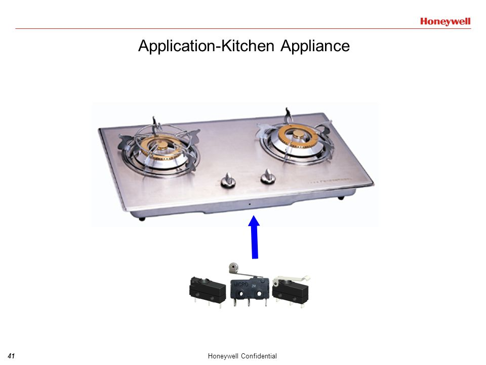 41Honeywell Confidential Application-Kitchen Appliance