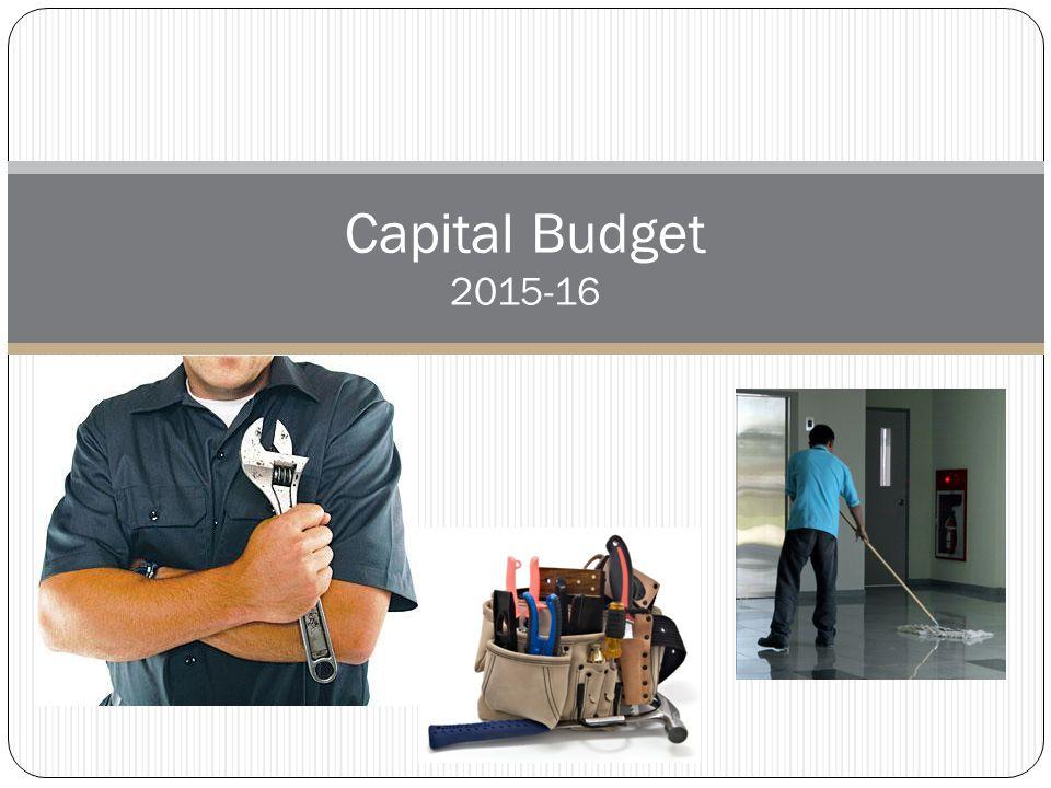 Capital Budget 2015-16