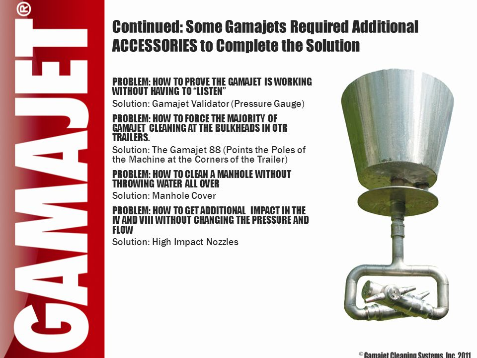 """Continued: Some Gamajets Required Additional ACCESSORIES to Complete the Solution PROBLEM: HOW TO PROVE THE GAMAJET IS WORKING WITHOUT HAVING TO """"LIST"""