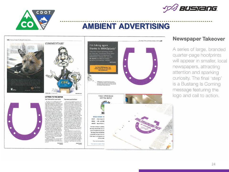 AMBIENT ADVERTISING 24