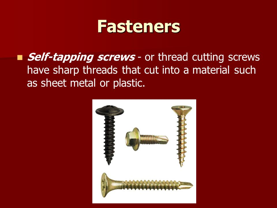 Fasteners Torque Specifications - Torque Specifications - Most automotive fasteners have specific tightening requirements.