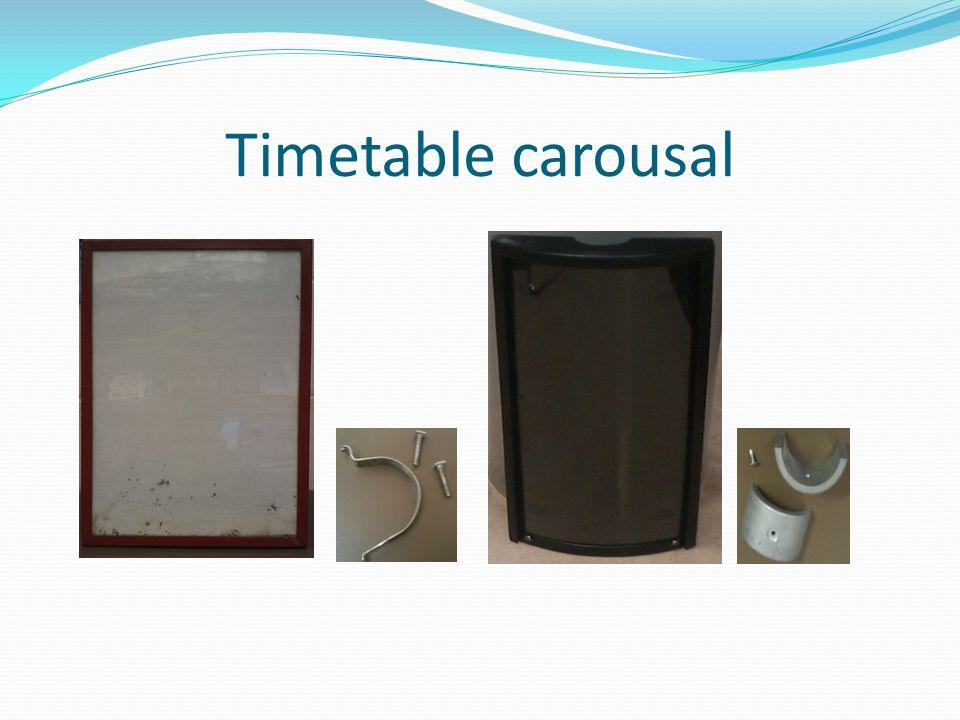 Timetable carousal