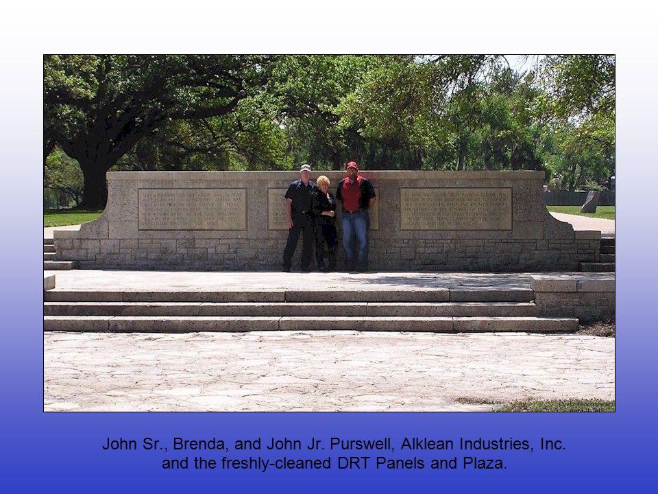 John Sr., Brenda, and John Jr. Purswell, Alklean Industries, Inc.