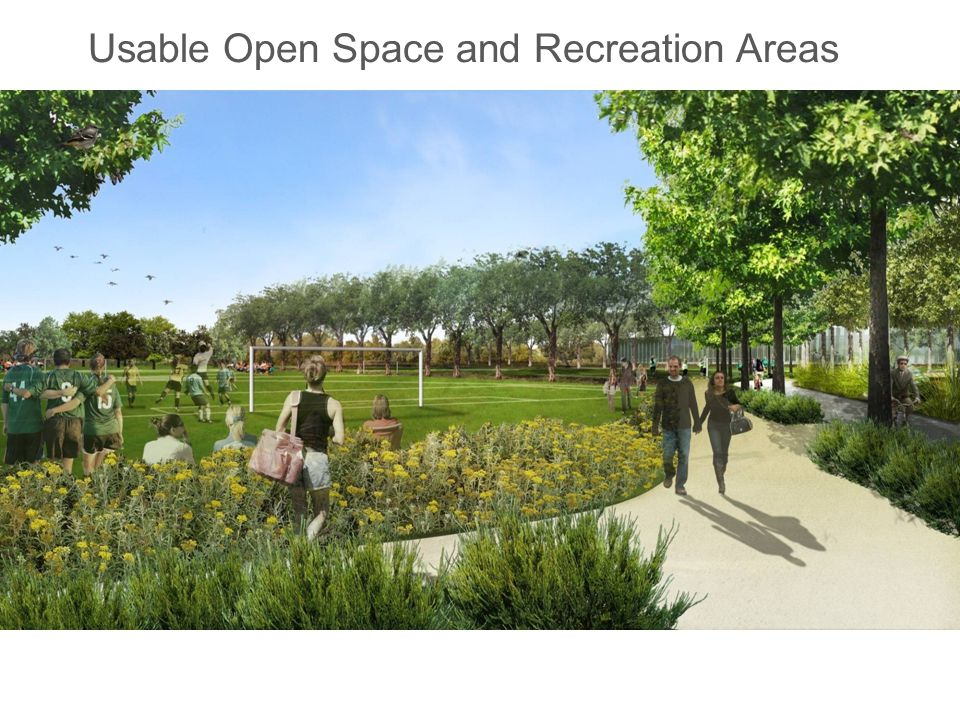 Usable Open Space and Recreation Areas