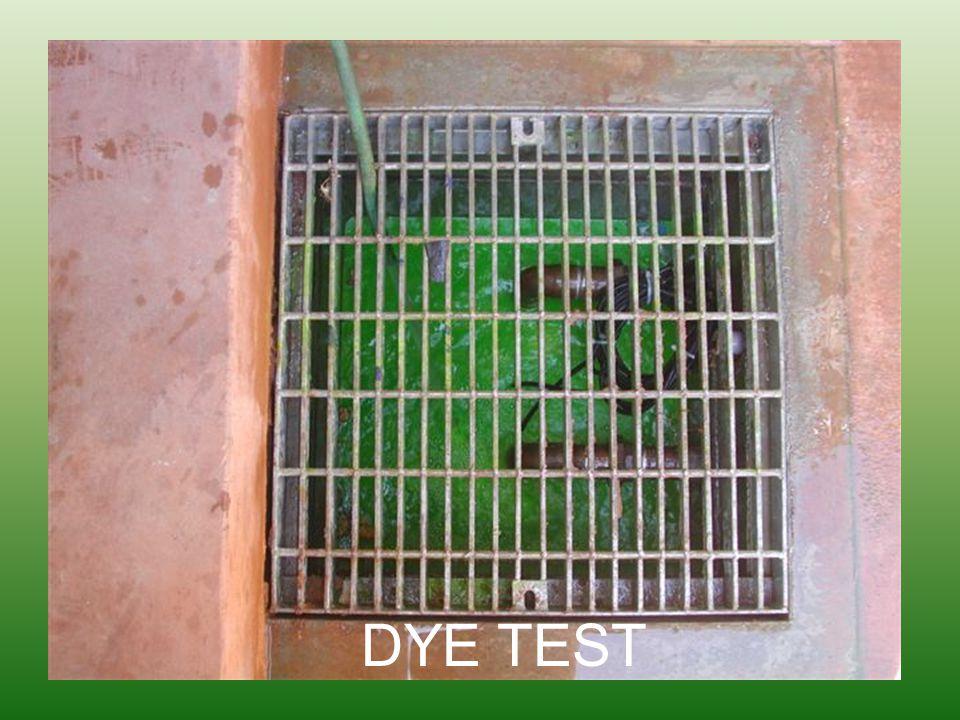 DYE TEST