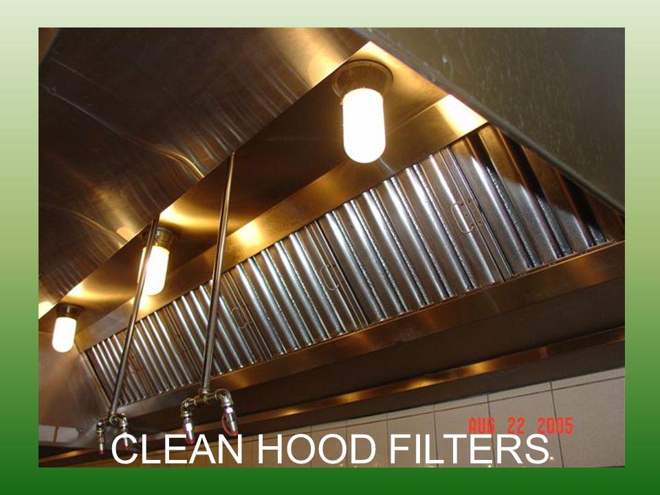 CLEAN HOOD FILTERS