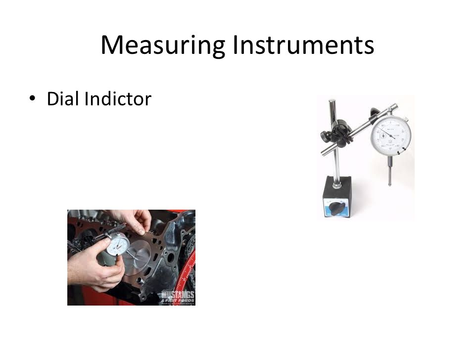 Measuring Instruments Dial Indictor