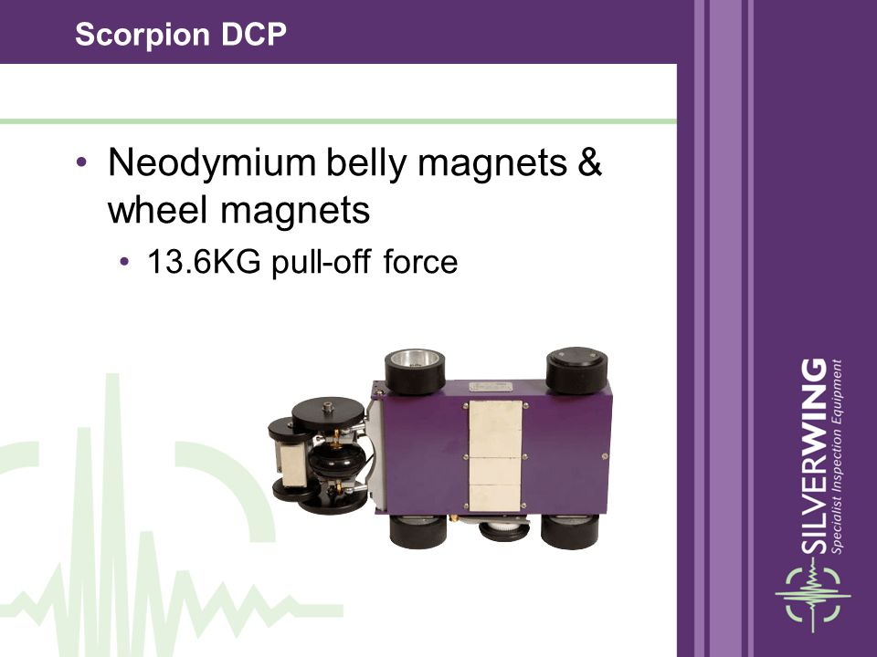 Scorpion DCP Neodymium belly magnets & wheel magnets 13.6KG pull-off force