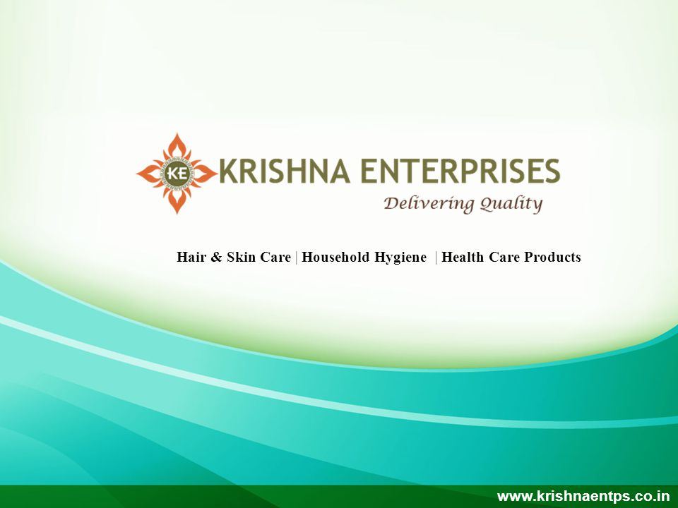Hair & Skin Care | Household Hygiene | Health Care Products www.krishnaentps.co.in