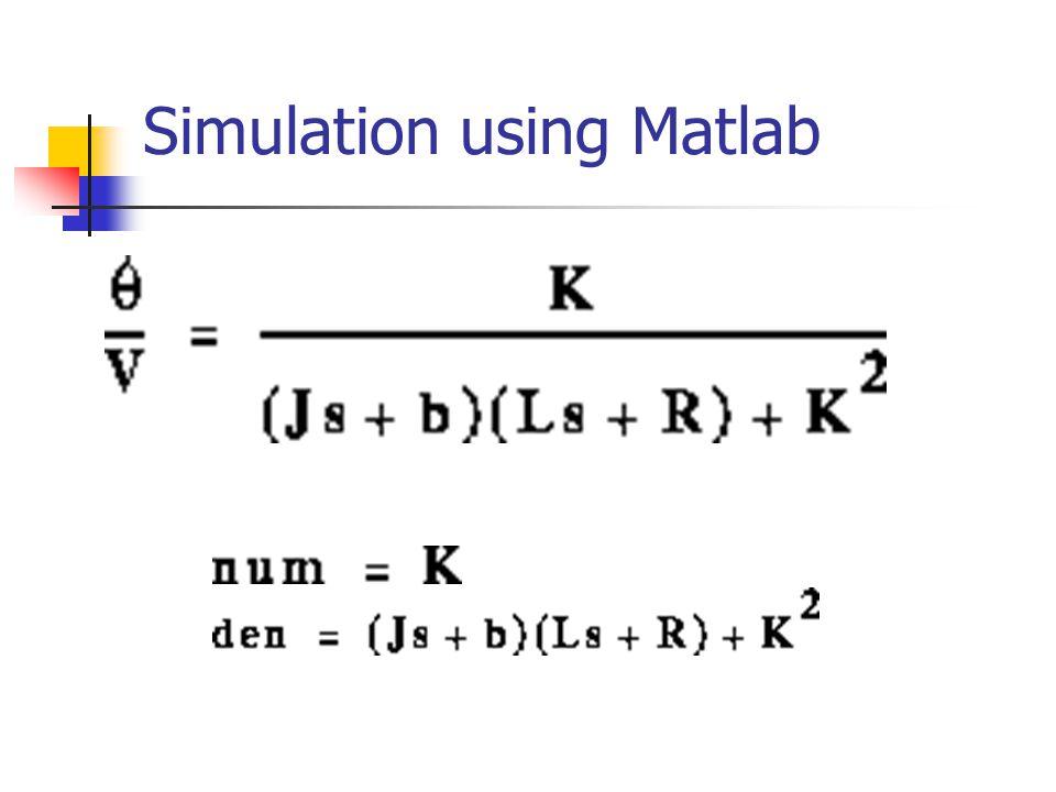 Simulation using Matlab