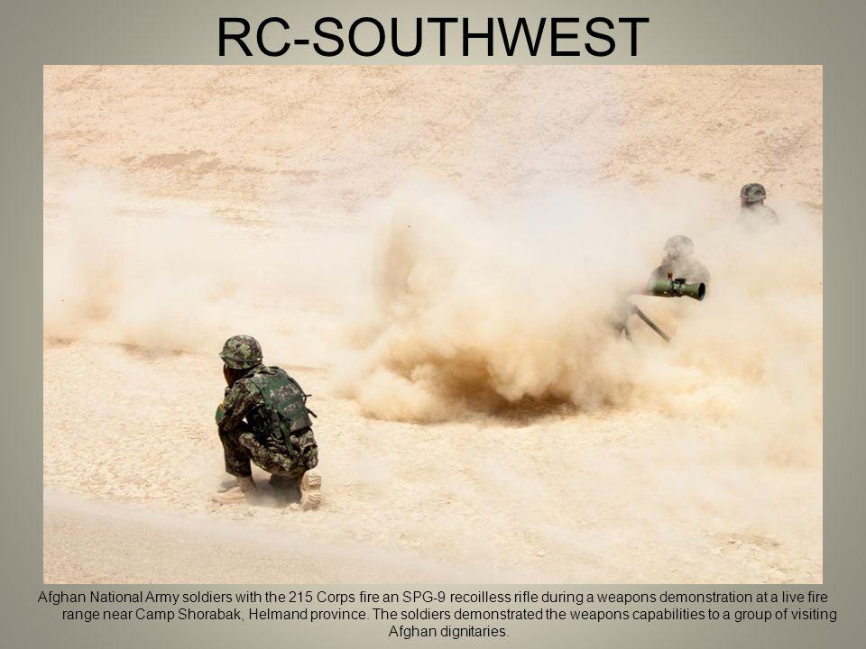 RC-SOUTHWEST An Afghan Uniformed Police (AUP) officer arranges evidence during evidence collection training on Forward Operating Base Zeebrugge, Kajaki District, Helmand province.