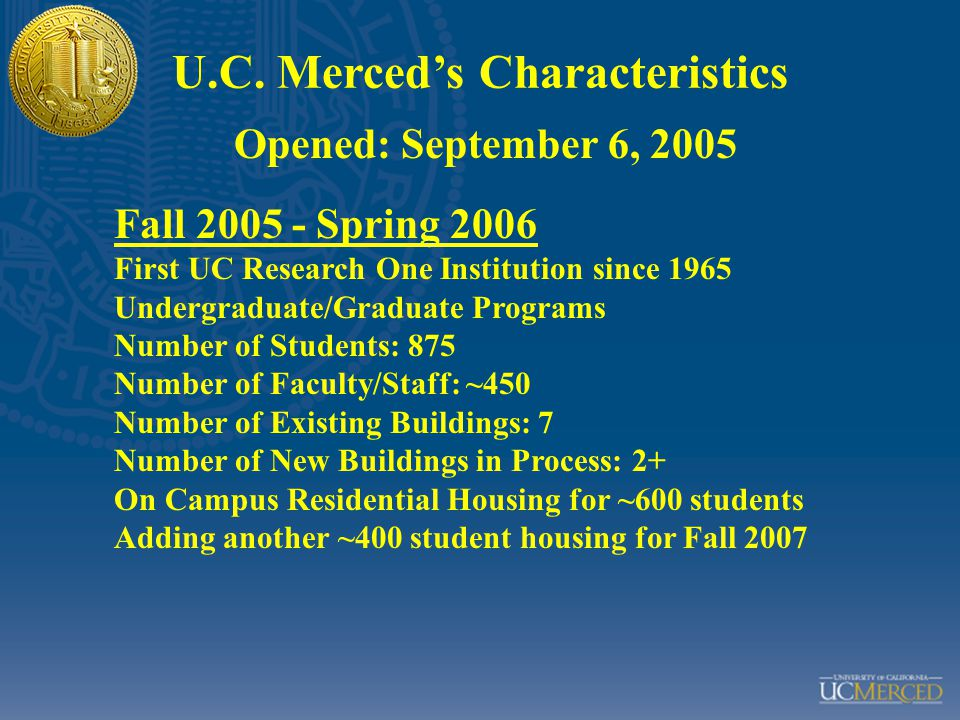 Banner SIS Identity Management Payroll/Personnel System (UCLA) Other Systems of Record Identity Management Other Applications Requiring User Information Campus Card 2) Enable UC Merced systems and applications to acquire critical information about users