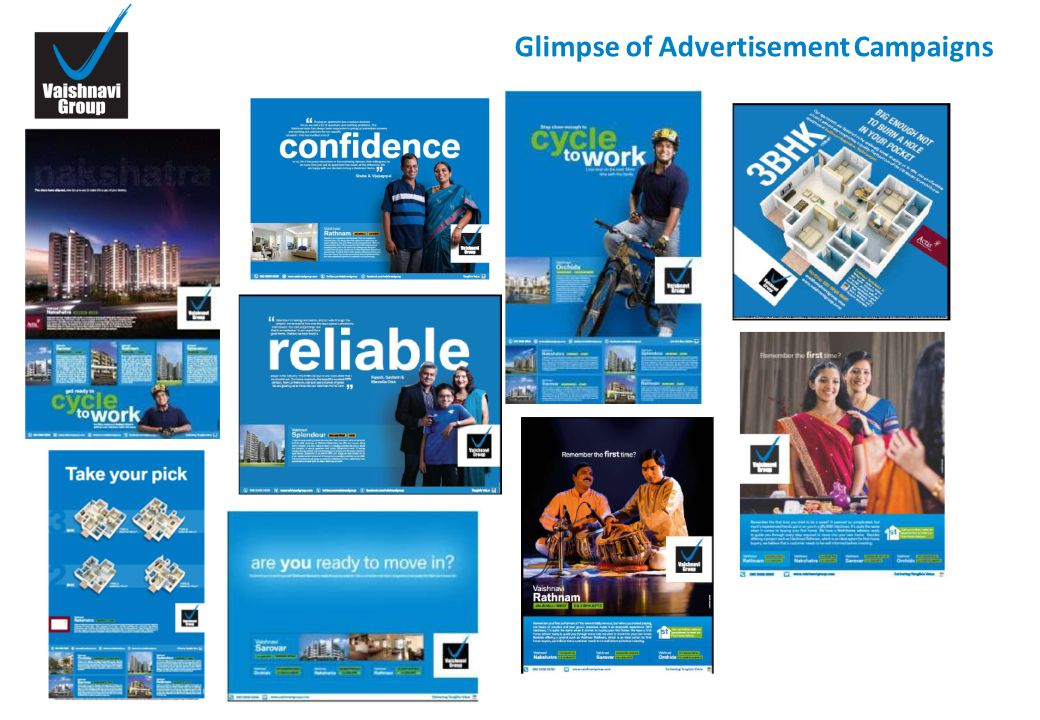 Glimpse of Advertisement Campaigns