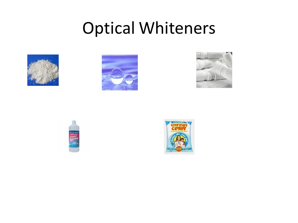 Optical Whiteners