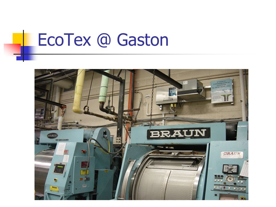 EcoTex @ Gaston