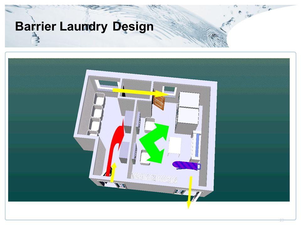 23 Barrier Laundry Design