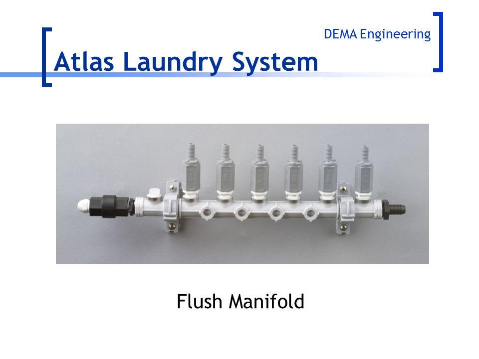 DEMA Engineering Atlas Laundry System Flush Manifold