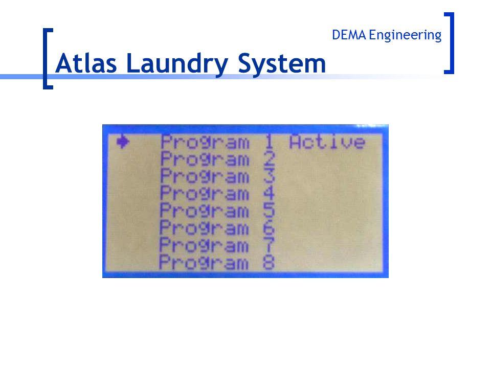 Atlas Laundry System DEMA Engineering