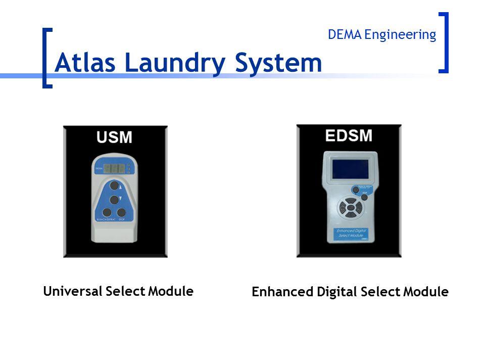 Atlas Laundry System DEMA Engineering Enhanced Digital Select Module Universal Select Module