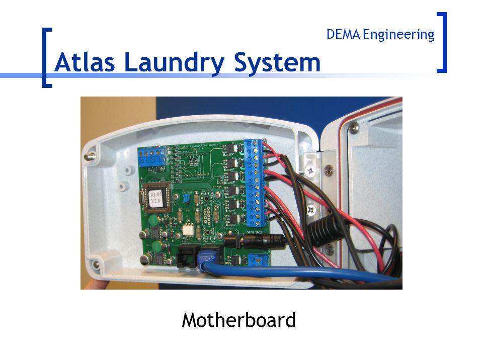 DEMA Engineering Atlas Laundry System Motherboard