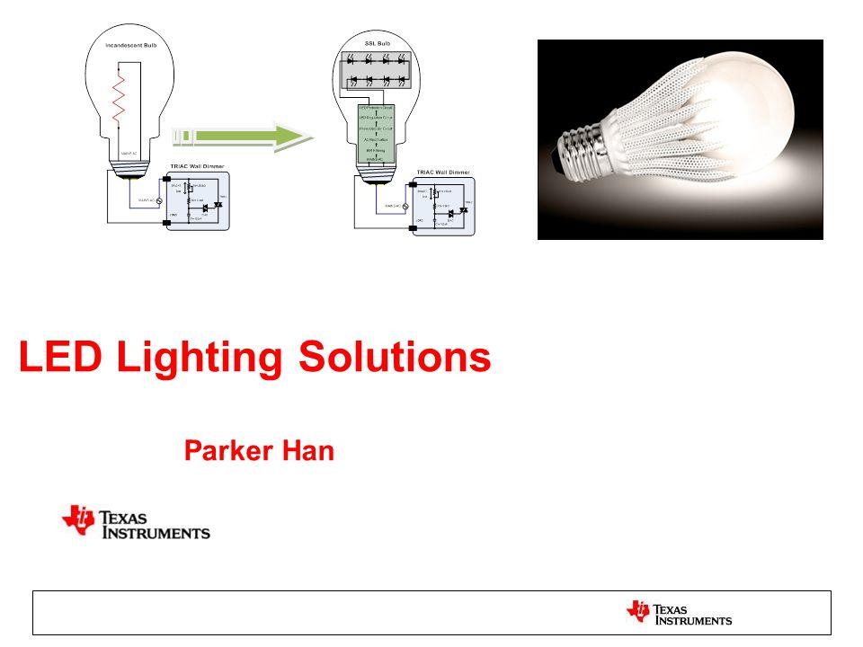 LED Lighting Solutions Parker Han