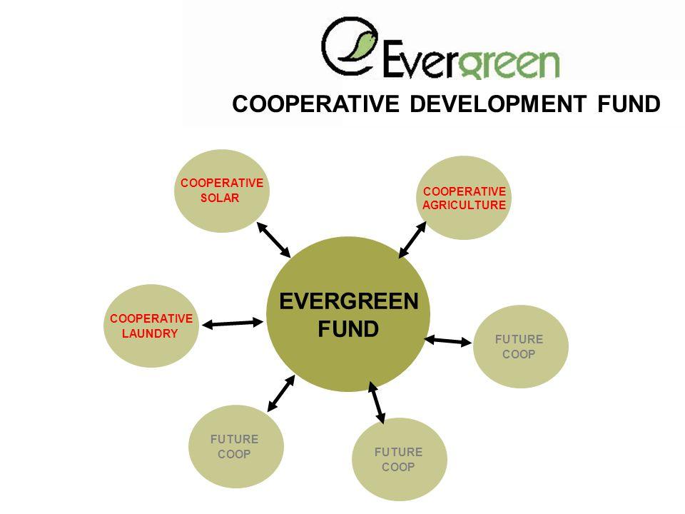 COOPERATIVE DEVELOPMENT FUND EVERGREEN FUND COOPERATIVE LAUNDRY COOPERATIVE SOLAR COOPERATIVE AGRICULTURE FUTURE COOP FUTURE COOP FUTURE COOP