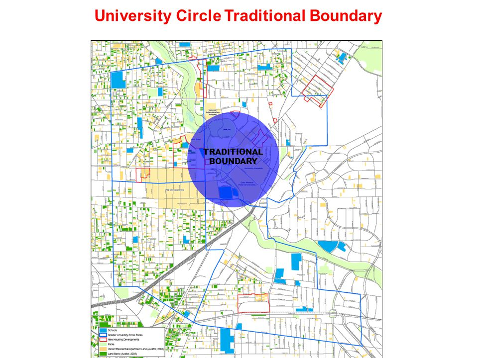 GREATER UNIVERSITY CIRCLE New Geography of Collaboration WADE PARK / HERITAGE LANE EASTERN HOUGH/ UPPER CHESTER EASTERN FAIRFAX BUCKEYE / SHAKER ST.