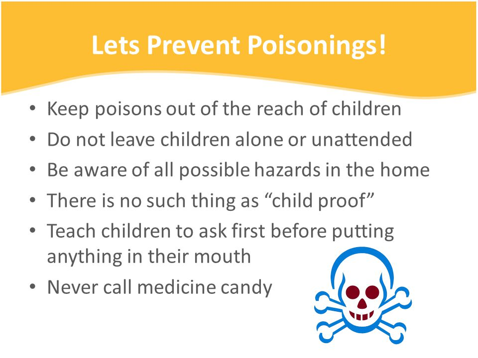 Lets Prevent Poisonings.