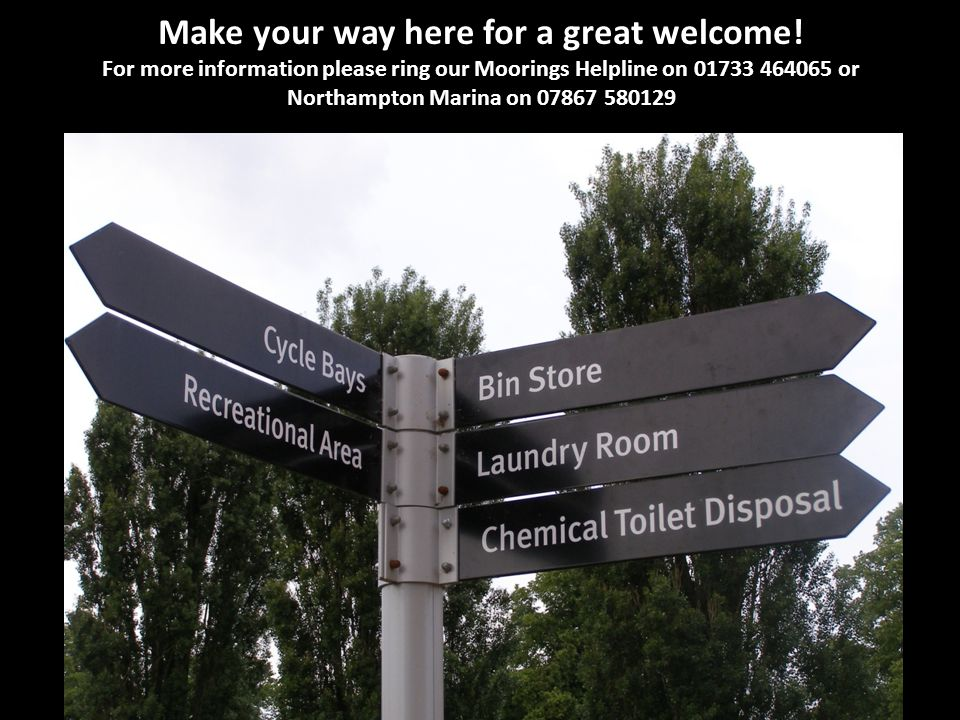 Make your way here for a great welcome.