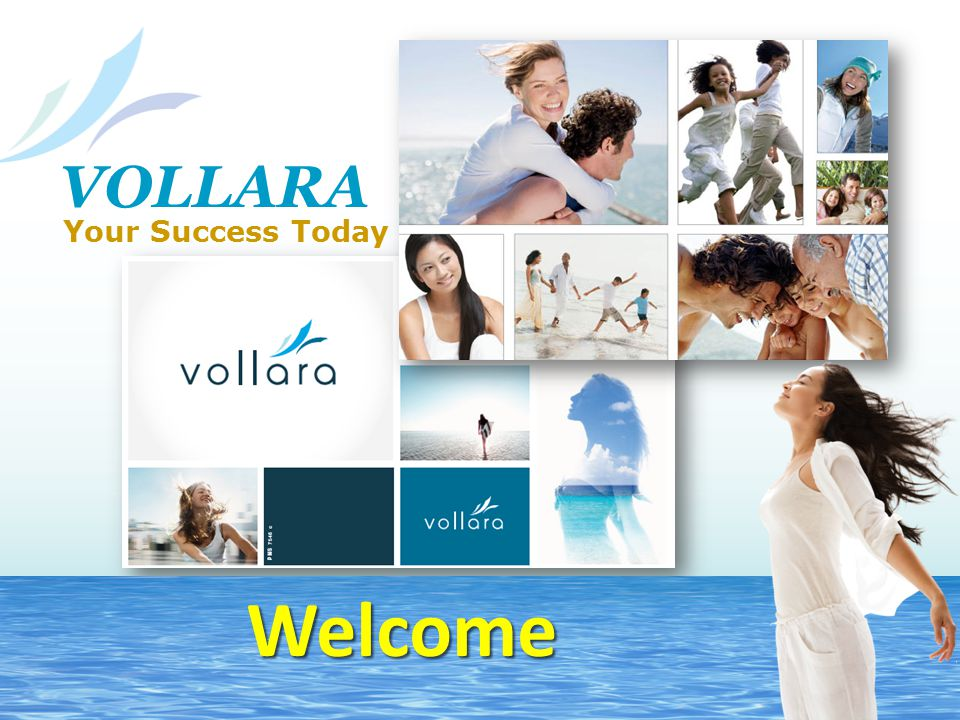 VOLLARA Your Success Today Welcome