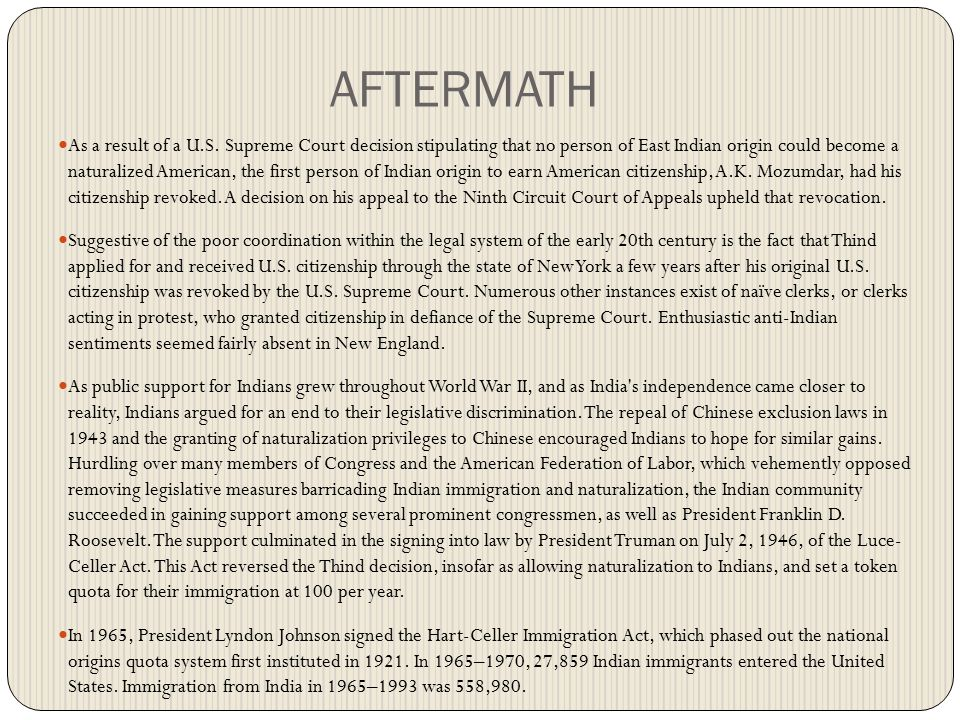 Question & Conclusion Did the President s executive orders and the power delegated to the military authorities discriminate against Americans and resident aliens of Japanese descent in violation of the Fifth Amendment.