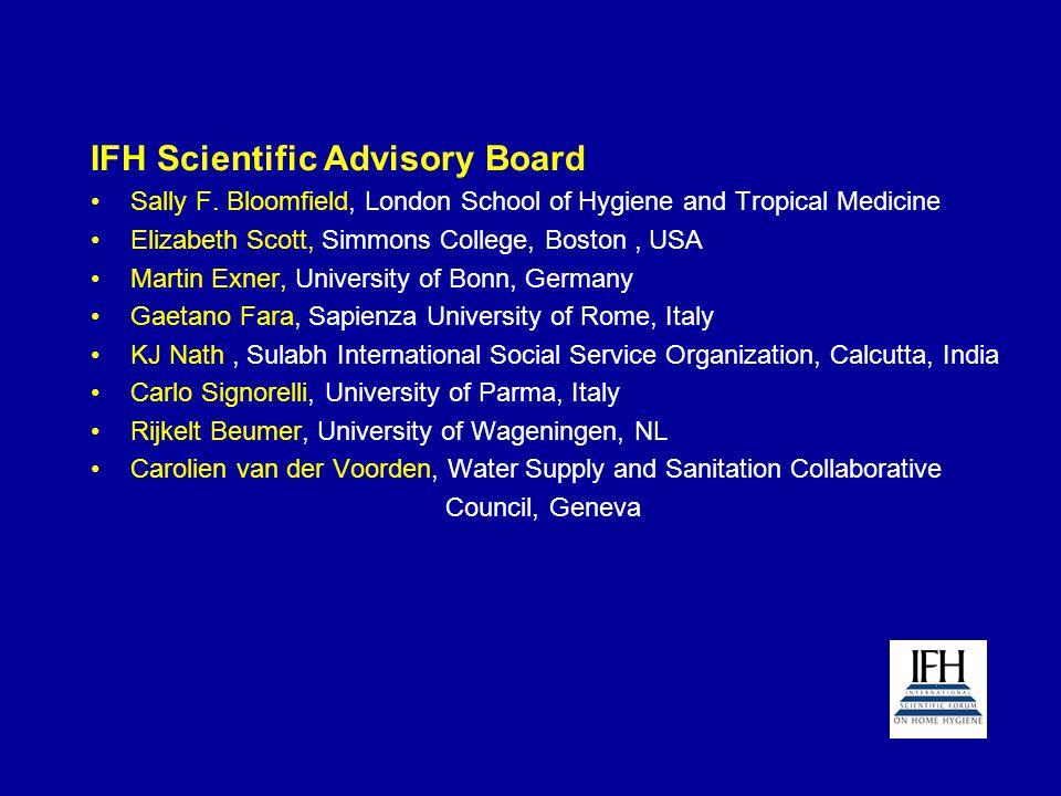 IFH Scientific Advisory Board Sally F.