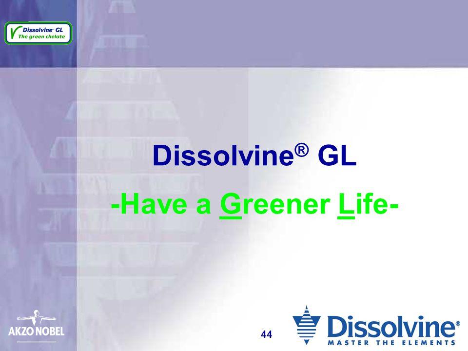 Dissolvine ® GL -Have a Greener Life- 44