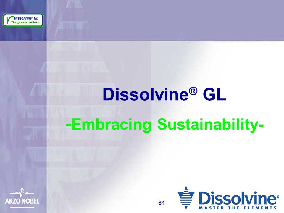 Dissolvine ® GL - Embracing Sustainability- 61