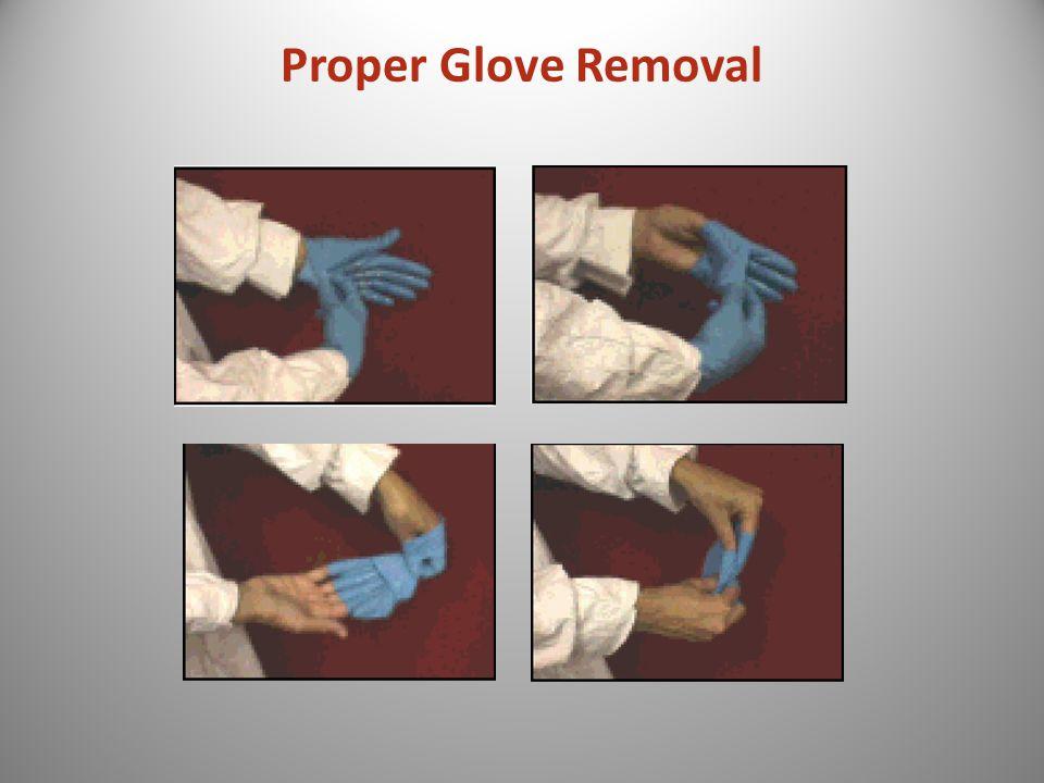 Proper Glove Removal
