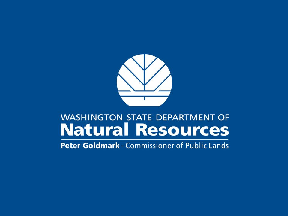 Department of Natural Resources Protect 13 millions acres from fire Manage 2.1 million acres of forest land Manage 2.6 million acres of aquatic lands Manage 1.1 million acres of agricultural and range lands Administer Forest Practices on 12 million acres