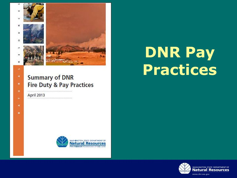 DNR Pay Practices