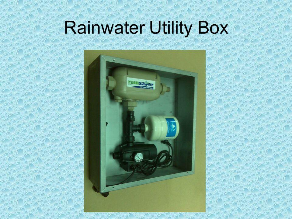 Rainwater Utility Box