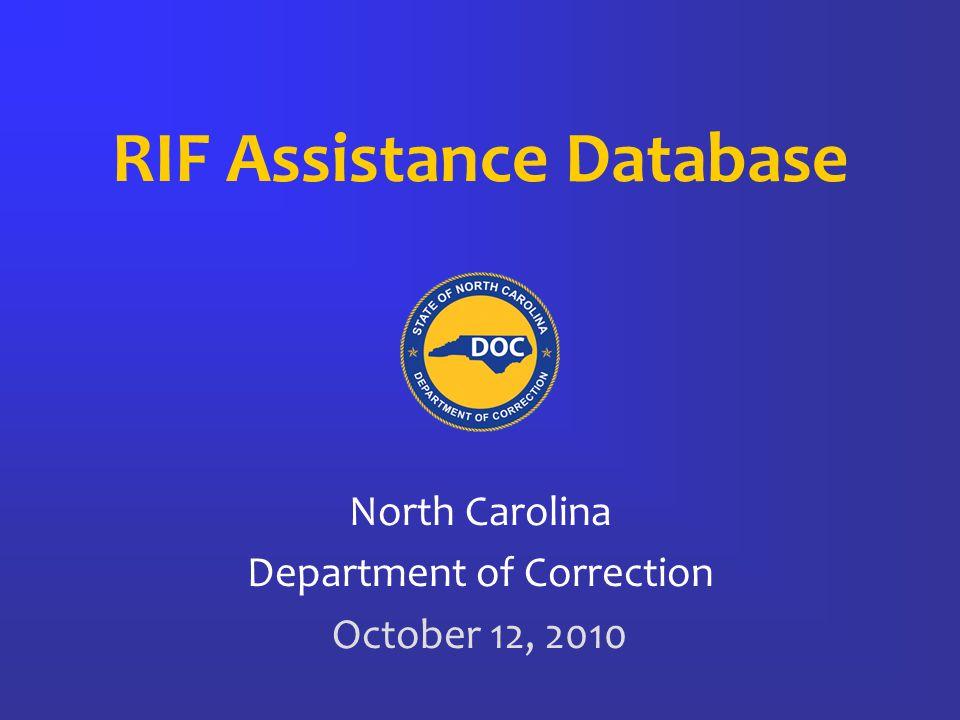 Add staff to Batch Select appropriate staff for each RIF Batch