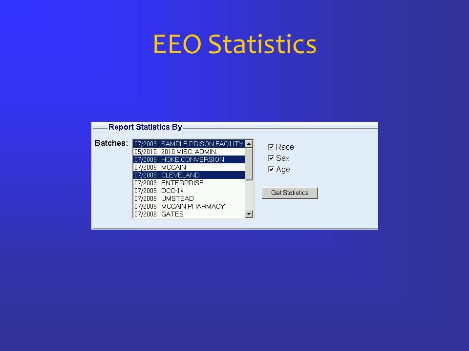EEO Statistics