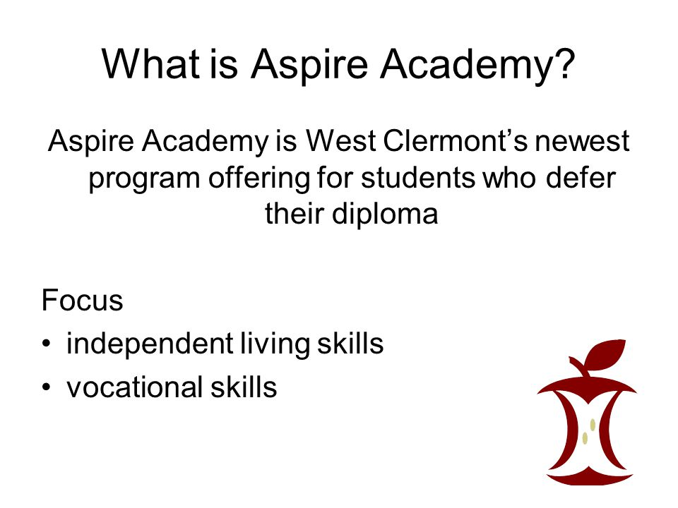 What is Aspire Academy.