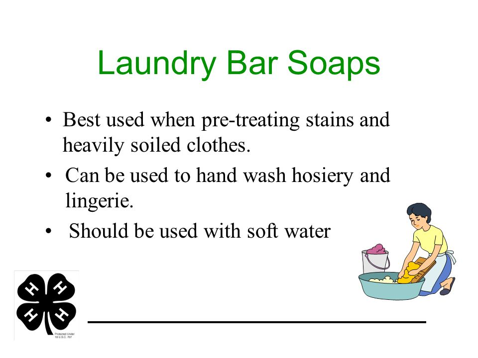 Fabric Softeners Available as liquids, in sheets, or as part of the detergent.
