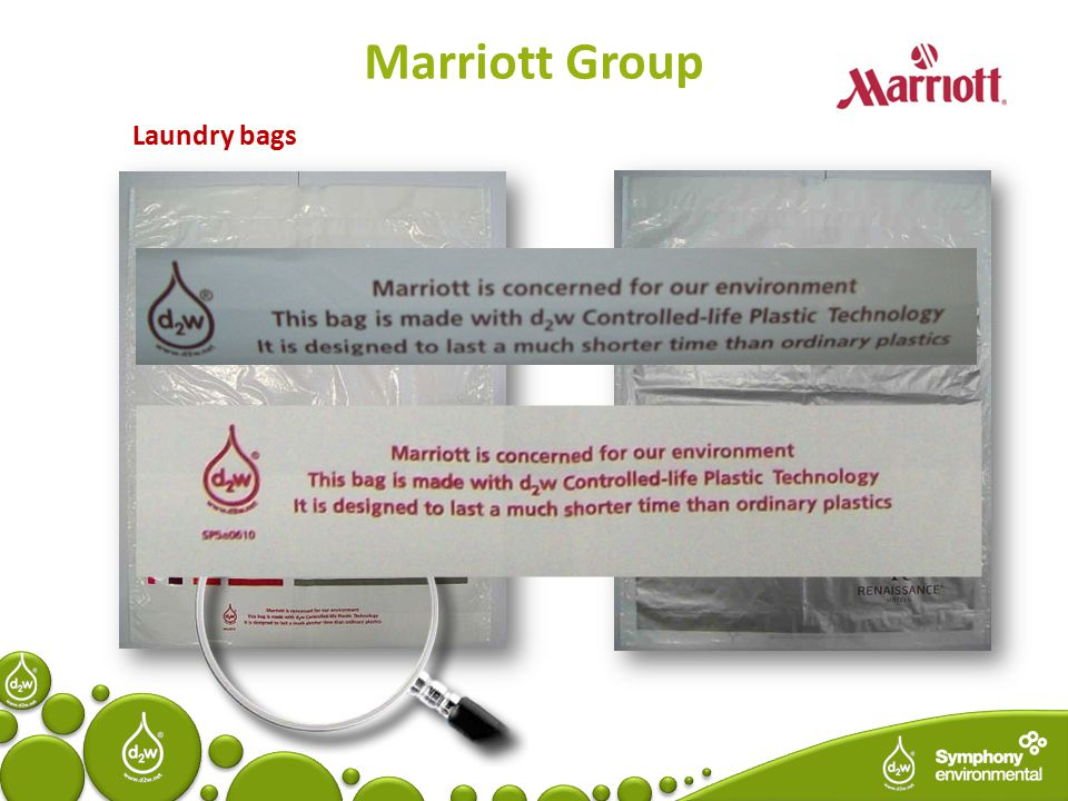 Marriott Group Laundry bags