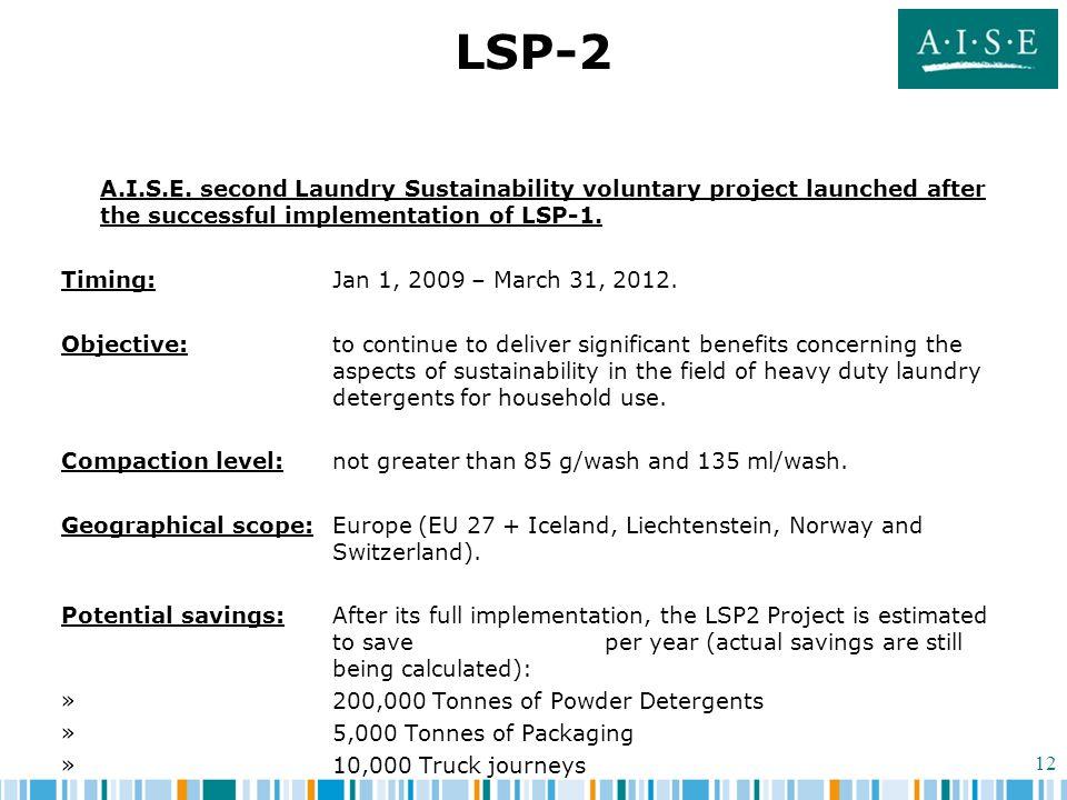 12 LSP-2 A.I.S.E.