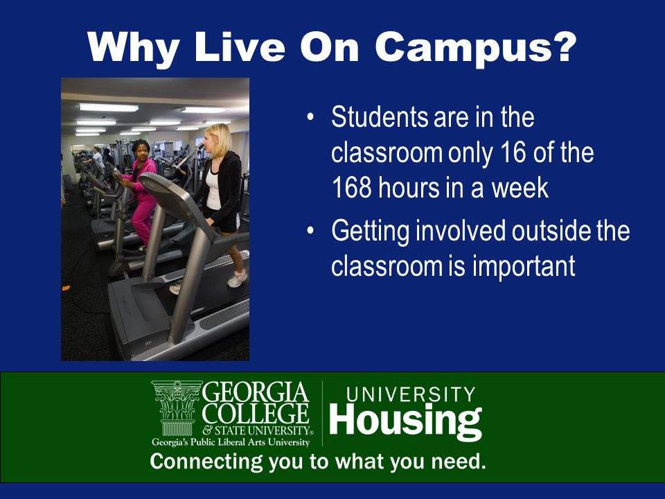 We'll See You August 13 th ! This presentation is available online at www.gcsu.edu/housing.