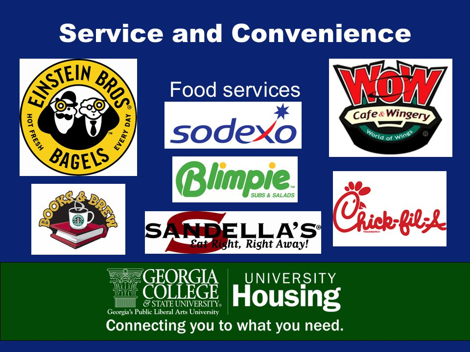 Service and Convenience Food services